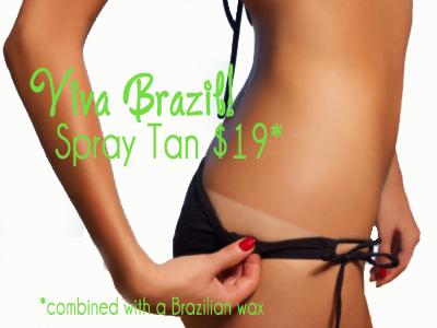 Spray Tan Viva Brazil